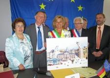 Bagnacavallo: firmato patto di gemellaggio in Francia.