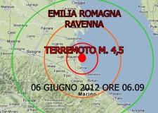 Terremoto in Emilia Romagna. Le scosse arrivano a Ravenna, e si sentono fino alle Marche.