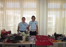 Ravenna. Lotta all'abusivismo commerciale: sequestrati 13 mila euro di merce dalla Polizia Municipale.