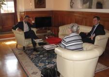 Emilia Romagna. Rimini: il sindaco ha incontrato il console generale degli Stati Uniti d'America a Firenze.