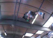 Pattinaggio acrobatico su rampa. Davide Giannoni è in Russia per l'European Cup.