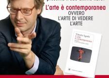Emilia Romagna. Vittorio Sgarbi a Cesenatico per presentare l'ultimo suo libro ' L'arte di vedere l'arte'.