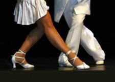 'Sirene danzanti show' a Bellaria Igea Marina. Danzano 30 coppie di ballerini.