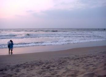 Forlidanza. Una nuova serata di 'meditazione guidata'. Nella spiaggia libera di Cervia.