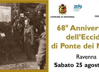 Emilia Romagna. Ravenna e la commemorazione del 68° dell'eccidio di Ponte de Martiri.
