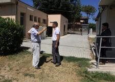 Emilia Romagna. Cesena: tre cantieri aperti a Borello. Scuola, campo sportivo e area verde.