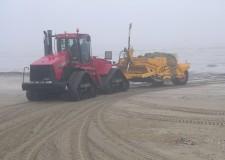 Romagna. Lotta all'erosione della costa. Sono 400mila i metri cubi di sabbia in più rispetto all'ultimo intervento per il ripascimento.