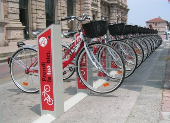 Emilia Romagna. Vola il bike sharing a Rimini. 900 chiavi e 24.800 prelievi solo a Rimini.