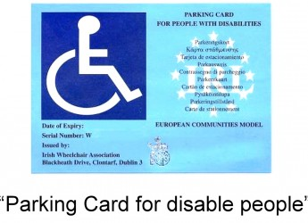 Emilia Romagna. A Cesena, in vigore il nuovo contrassegno europeo nei parcheggi per disabili.