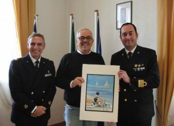 Rimini. Nuovo comandante per la Capitaneria di porto. In visita al comune di Misano Adriatico.