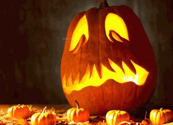 Lugo. Grande festa per Halloween con la 'Piligrèna', il laboratorio di lavorazione della zucca.