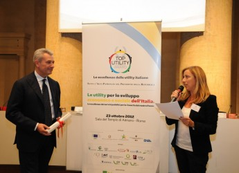 Emilia Romagna. Top Utility Award 2012: Gruppo Hera vincitore assoluto.
