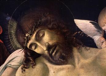Emilia Romagna. Rimini.In mostra a Milano 'Il Cristo in pietà' di Giovanni Bellini.