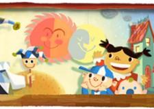Giornata mondiale dell'Infanzia. Google dedica un Doodle ai bambini.