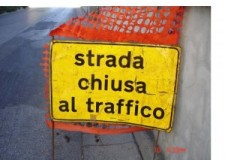 Forlì. Chiusa al traffico la strada provinciale 76 Civorio, in Comune di Civitella di Romagna.
