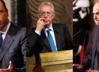 Governo Monti al capolinea. Alfano ' Chiusa questa fase'. Mentre Bersani raduna le sue truppe.