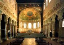 Ravenna. Più luce per la Basilica di Sant'Apollinare in Classe. 'Acceso' l'ingresso.