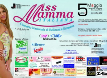 Emilia Romagna. Miss Mamma Italiana torna ( dopo 7 anni) a Gatteo a Mare.