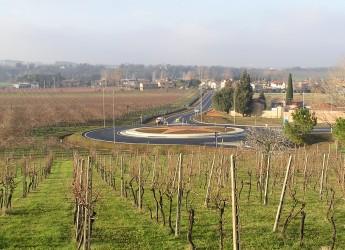 Forlì-Cesena. Inaugurata la variante alla strada provinciale 'del Rabbi' all'altezza di Grisignano.