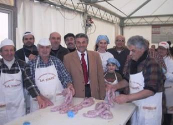 Emilia Romagna. La festa del maiale a San Mauro Pascoli: a sostengo della tradizione.