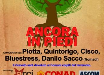 Emilia Romagna. 'Ancora in Piedi' per l'Emilia: il concerto a Pieve di Cento.