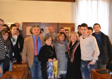 Emilia Romagna. Maria Rosario Carballeda De Cerruti ricevuta a San Mauro Pascoli