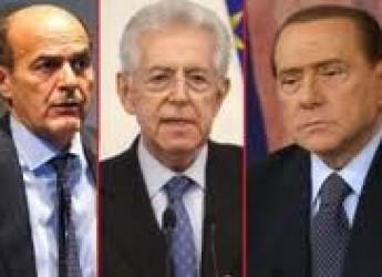 Prime battute della campagna elettorale. Emergono tre Poli. Con attorno una galassia di 'partitini'.