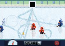 Google. Doodle di ghiaccio: gioco-omaggio a Frank Zamboni che inventò la macchina Rolba.