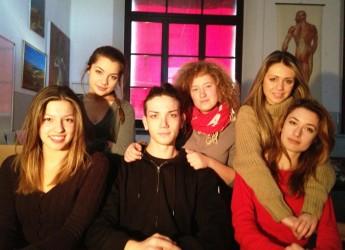 Forlì. I ragazzi del Liceo Artistico e Musicale nel progetto 'Poste.. in cortometraggio'.