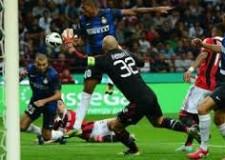 Campionato serie A. Tutte le luci sul gran derby di Milano. Al Shaarawy apre, Schelotto pareggia.