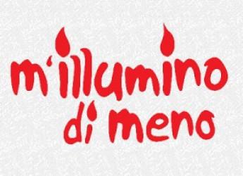 Faenza. Ambiente. La città aderisce all'iniziativa di Rai2 Caterpillar 'M'illumino di meno'.