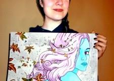 """La mostra. Sara Fattori artista riminese che """"guarda"""" a Forlì."""