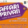 Morciano di Romagna, pulizie di primavera ad 'Affari Privati'.