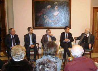 Santarcangelo di Romagna. Medaglia d'onore a 7 cittadini che furono deportati nei campi di concentramento.