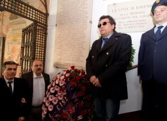 Ravenna. Anniversario Mecnaci: cerimonia di commemorazione in piazza del Popolo e convegno.