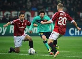 Champions ottavi. Messinscena finita: il dio Barca ingoia il Milan, sua vittima sacrificale.