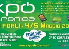 Forlì. Expo Elettronica e Forlive Comics, una coppia vincente.