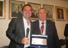 Savignano s/R. Riconoscimenti& Personaggi. Il 'Lom d'Or' 2013 ad Andrea Guerra e Fernando Bindi.