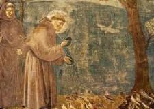 Rimini. Sfogliando il prezioso libretto sul passaggio di 'San Francesco nel Montefeltro'.