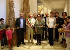 Bagnacavallo. Taglio del nastro all'Ecomuseo delle Erbe Palustri di Villanova.