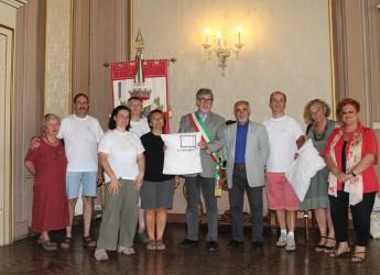 Forlì. 'A ciascuno il suo' in visita dal vice-sindaco Giancarlo Biserna.
