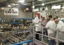 Ravenna. I dirigenti del Ministero dell'Agricoltura visitano la filiera cooperativa dell'ortofrutta.