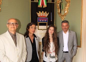 Cesena. Visita a Palazzo Albornoz per Beatrice, la più brava a raccontare i mestieri del mare.