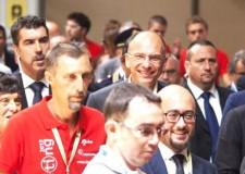Rimini. Il premier Enrico Letta al Meeting: 'Sì alla politica dell'incontro'.