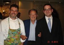 Repubblica di San Marino. Al ristorante Da Righi, cena con il 'Professore'. In visita privata.