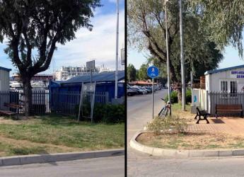Rimini. Riqualificazione nella zona dell'ingresso del porto.