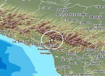 Massa Carrara. Terremoto, scossa di magnitudo 3.6 poco dopo la mezzanotte.