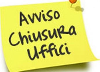 Faenza. Uffici chiusi dell'Unione Romagna Faentina nei prossimi due giovedì.