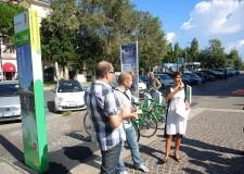 Emilia Romagna. Parte 'Mimuovo in bici'  Rimini: il pratico bike sharing targato Bicincittà.