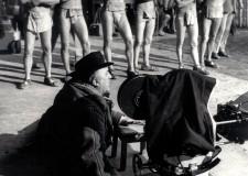 Rimini. La mostra: 'Fellini at work' gli scatti di Tazio Secchiaroli dai set del grande maestro.